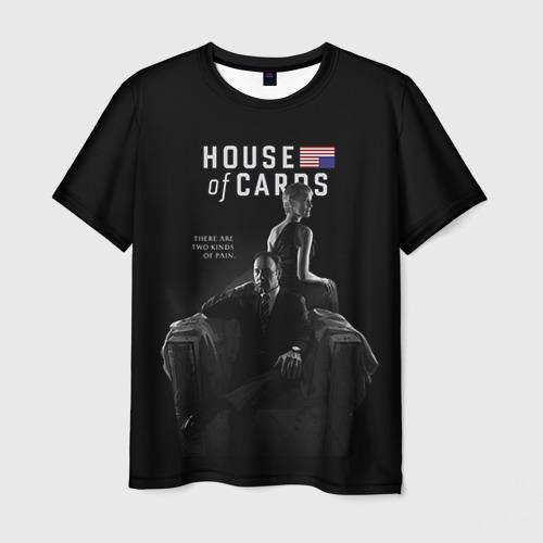 Мужская футболка 3D  Фото 03, House of Cards