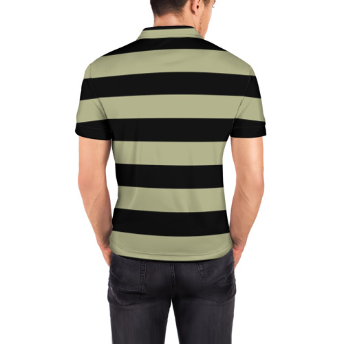 Мужская рубашка поло 3D  Фото 04, Old Hipster