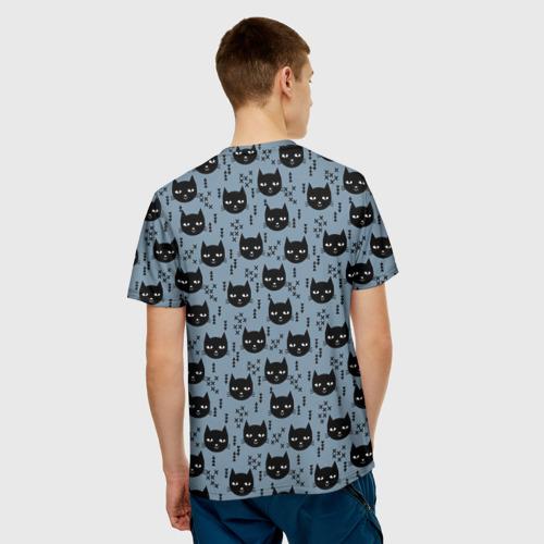 Мужская футболка 3D  Фото 02, Хипстер коты 2