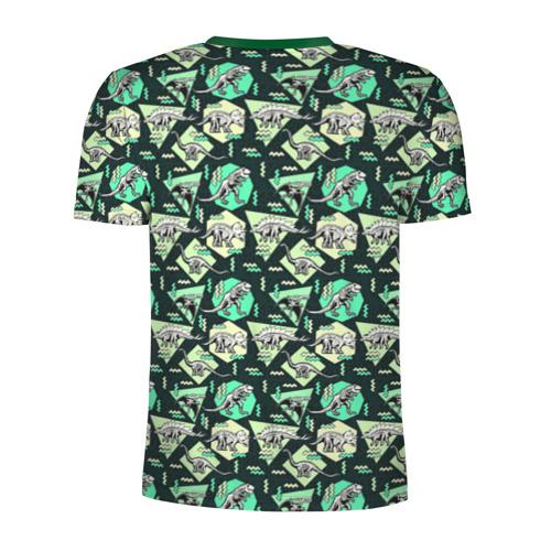 Мужская футболка 3D спортивная  Фото 02, Динозавры