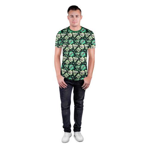 Мужская футболка 3D спортивная  Фото 04, Динозавры
