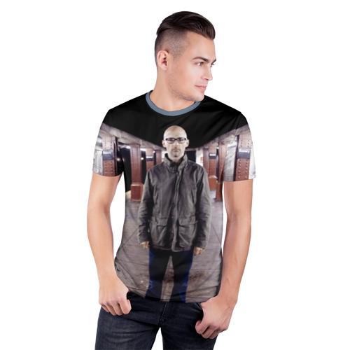 Мужская футболка 3D спортивная Moby Фото 01