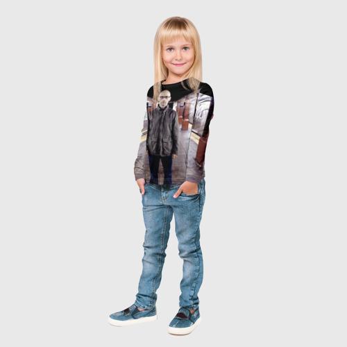Детский лонгслив 3D Moby Фото 01