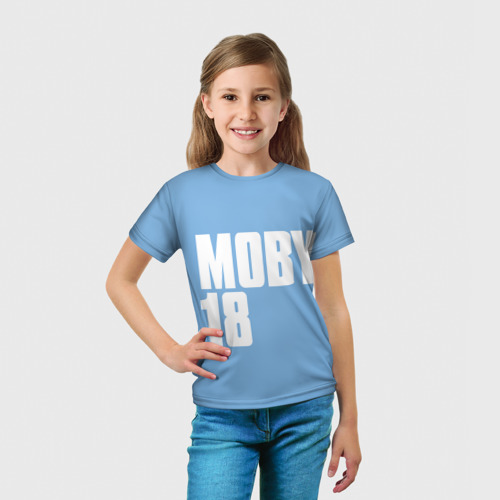 Детская футболка 3D  Фото 03, Moby