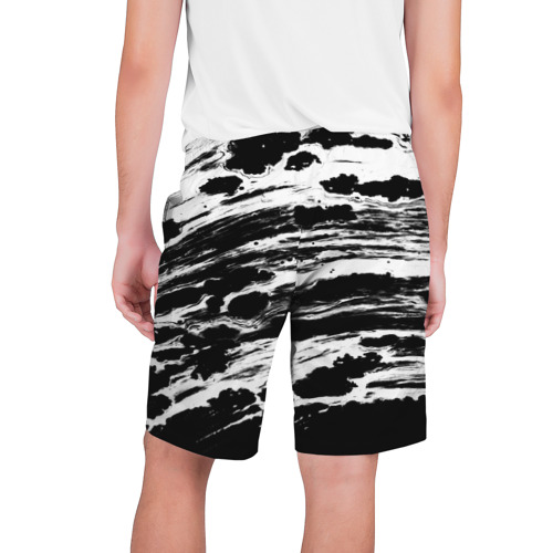 Мужские шорты 3D  Фото 02, Gray color abstract