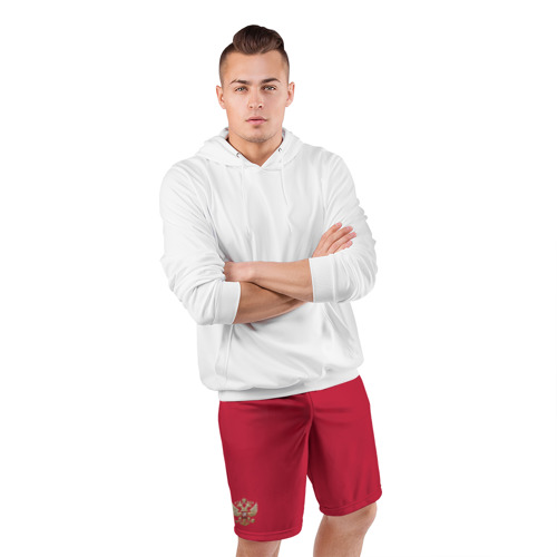 Мужские шорты спортивные Сборная России Фото 01