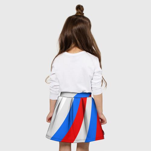 Детская юбка-солнце 3D Россия Фото 01