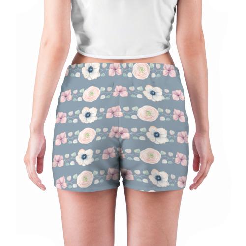 Женские шорты 3D  Фото 04, Flowers