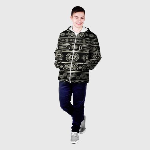 Мужская куртка 3D  Фото 03, Африканский мотив