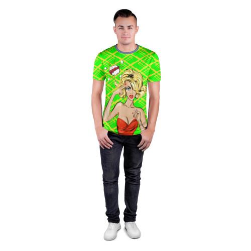 Мужская футболка 3D спортивная  Фото 04, BOOM!