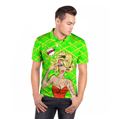 Мужская рубашка поло 3D  Фото 05, BOOM!