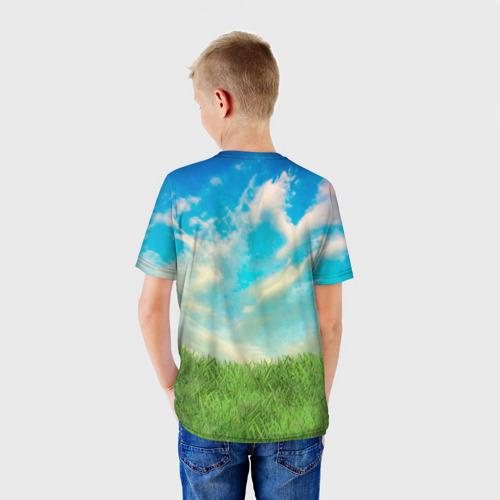 Детская футболка 3D  Фото 02, Пет-селфи