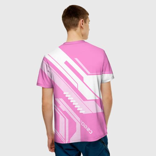 Мужская футболка 3D  Фото 02, cs go Vulcan