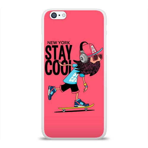 Чехол для Apple iPhone 6Plus/6SPlus силиконовый глянцевый  Фото 01, Stay cool