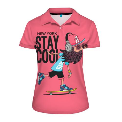 Женская рубашка поло 3D Stay cool