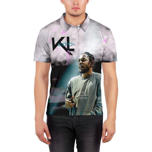 Мужская рубашка поло 3D  Фото 03, Kendrick Lamar