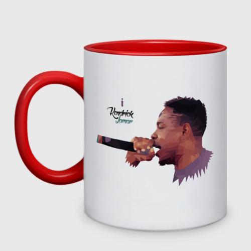 Кружка двухцветная Kendrick Lamar