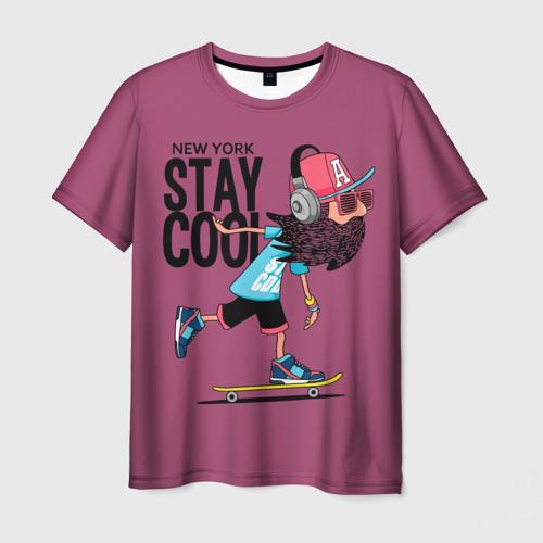 Мужская футболка 3D  Фото 03, Stay cool