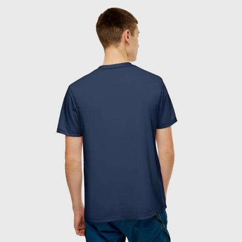 Мужская футболка 3D  Фото 02, Snowboarding
