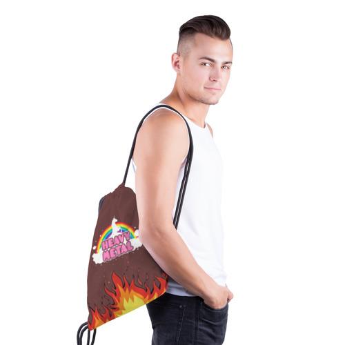 Рюкзак-мешок 3D  Фото 03, Heavy METAL