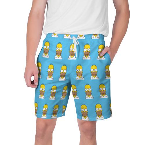 Мужские шорты 3D Гомер