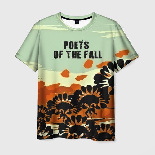 Мужская футболка 3D  Фото 01, Poets of the fall