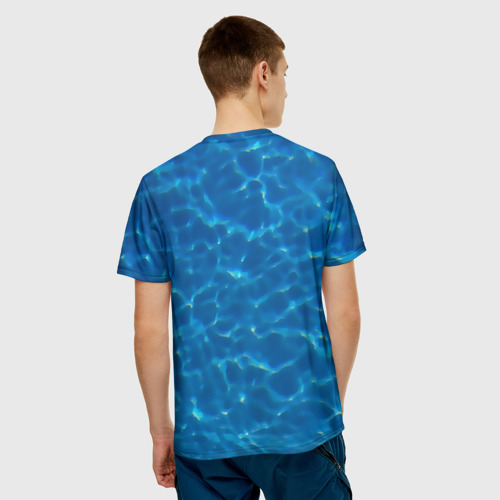 Мужская футболка 3D  Фото 02, Пасть акулы