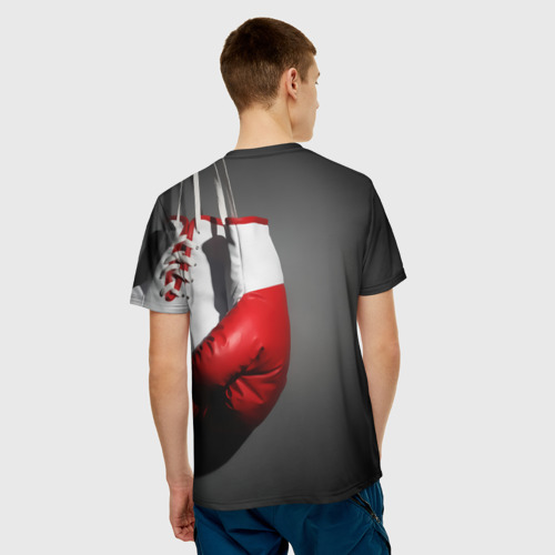 Мужская футболка 3D  Фото 02, Порхай как бабочка