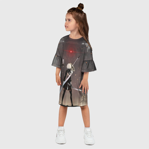 Детское платье 3D  Фото 03, мечница