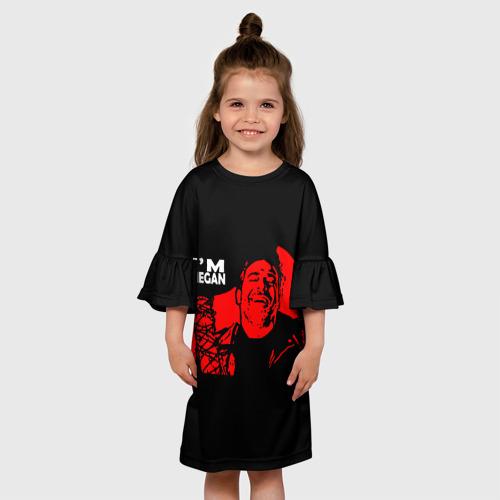 Детское платье 3D I'm Negan