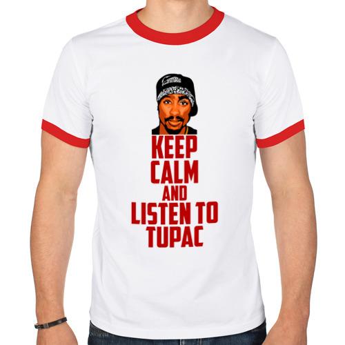Мужская футболка рингер  Фото 01, Слушай Тупака
