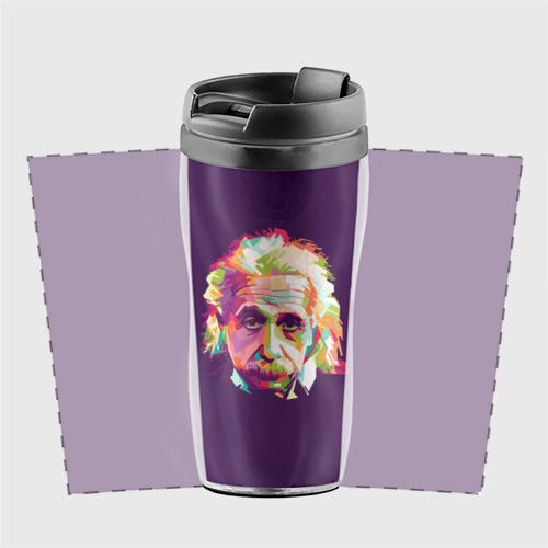 Термокружка-непроливайка  Фото 02, Альберт Эйнштейн