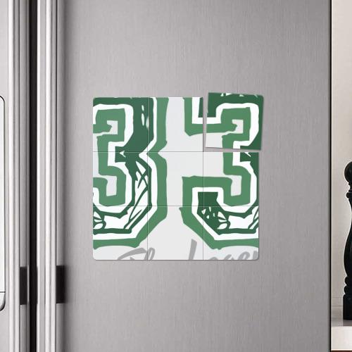 Магнитный плакат 3Х3  Фото 04, Larry Bird Legend