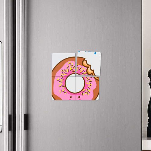 Магнитный плакат 2Х2  Фото 04, Укуси меня