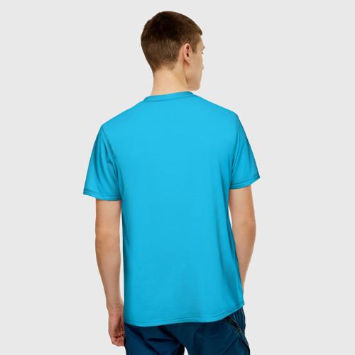 Мужская футболка 3D  Фото 02, Расслабься, я здесь
