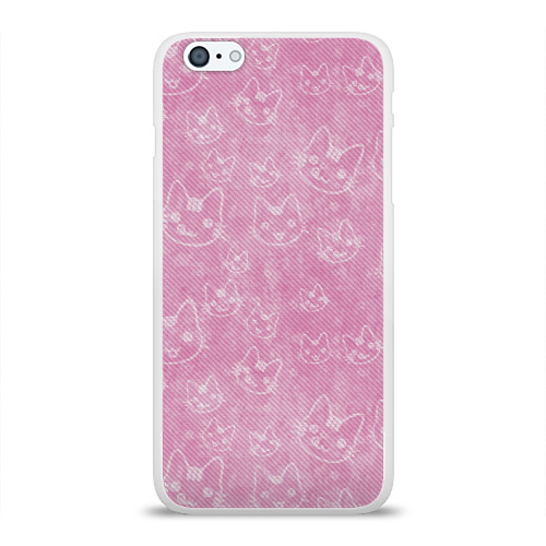 Чехол для Apple iPhone 6Plus/6SPlus силиконовый глянцевый  Фото 01, Hello Kitty