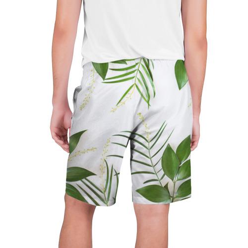 Мужские шорты 3D  Фото 02, Растительность