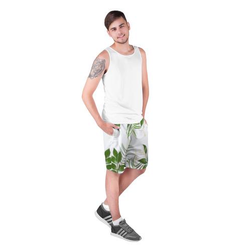 Мужские шорты 3D  Фото 03, Растительность
