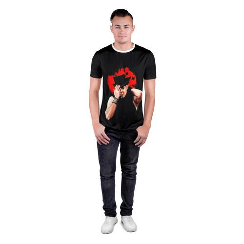 Мужская футболка 3D спортивная  Фото 04, poets of the fall(Марко)
