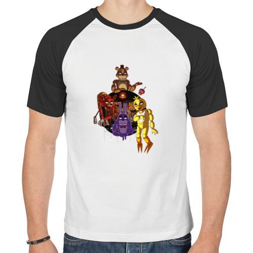 Мужская футболка реглан  Фото 01, Five Nights At Freddy's (3)