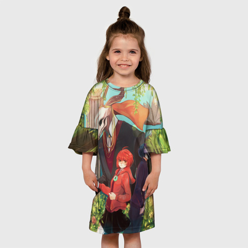 Детское платье 3D Невеста чародея