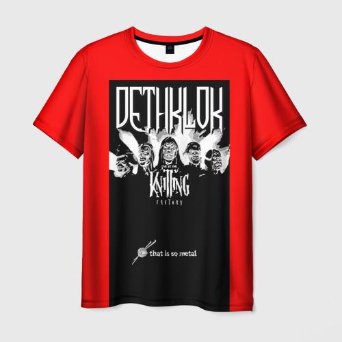 Мужская футболка 3D Metalocalypse (Dethklok) 6