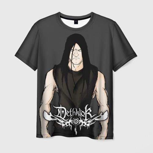 Мужская футболка 3D Metalocalypse (Dethklok) 12