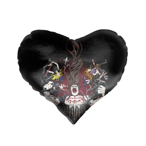Подушка 3D сердце  Фото 01, Metalocalypse (Dethklok) 13