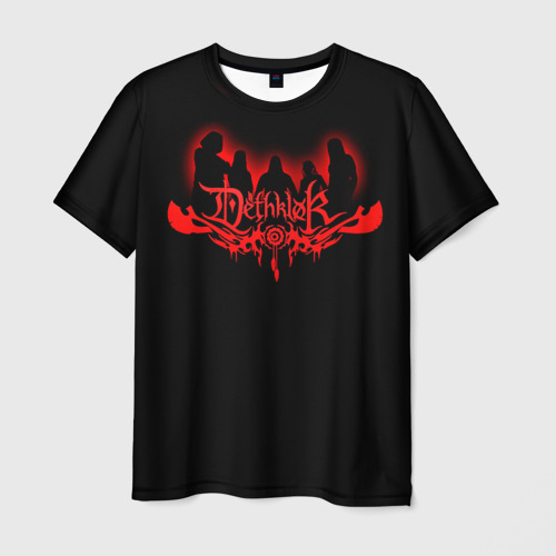 Мужская футболка 3D Metalocalypse (Dethklok) 14