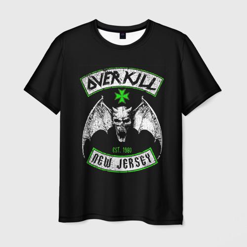 Мужская футболка 3D  Фото 01, Overkill 6