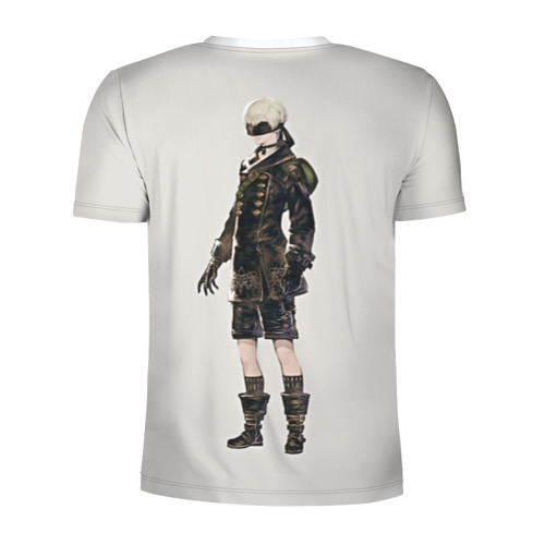 Мужская футболка 3D спортивная  Фото 02, Nier automata