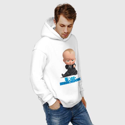 Мужское худи Oversize хлопок Boss Baby Фото 01