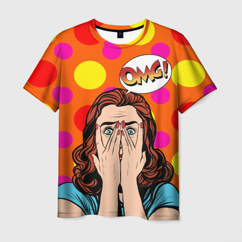 Мужская футболка 3D  Фото 01, POP ART