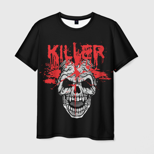 Мужская футболка 3D Killer